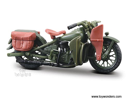 1942 WLA Flathead, Harley-Davidson Motorcycles Series 26 (1:18), Maisto Item Number MST31360/26F