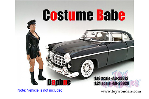 Costume Babe Daphne Figure For 1:18