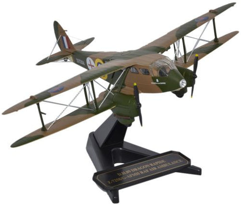 De Havilland DH.89 Dragon Rapide Desk Display Model 1//55 AV Aircraft Airplane