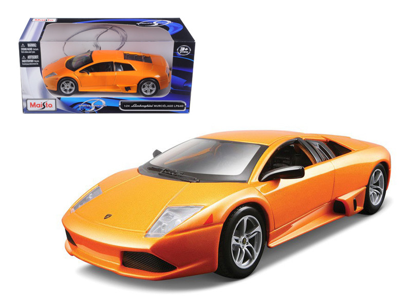 Diecast & Toy Vehicles Murcielago Lp640 Hardtop Lamborghini Pearl White 1:18 Scale Gold Bburago