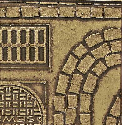 Chooch HO Cobblestone Street Details Medium CHO8657