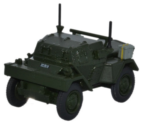 Daimler Dingo Scout Car, 9th Platoon, County Armagh, Royal Ulster Constabulary, 1950s (1:76 OO Scale) by Oxford Diecast Military Vehicles