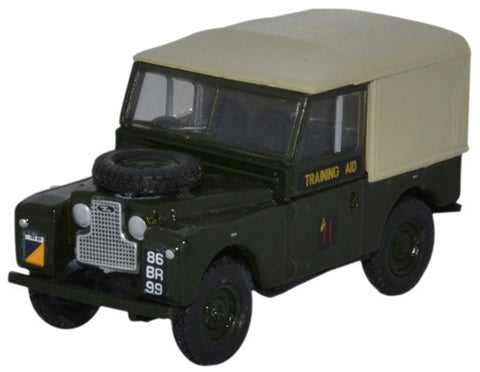 "Land Rover Series I, 88"" Canvas, 6th Training Regiment, Royal Corps of Transport (1:76 OO Scale) by Oxford Diecast Military Vehicles"