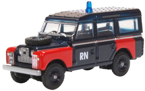 Land Rover Series II LWB Station Wagon, Royal Navy Bomb Disposal (1:76 OO Scale) by Oxford Diecast Military Vehicles