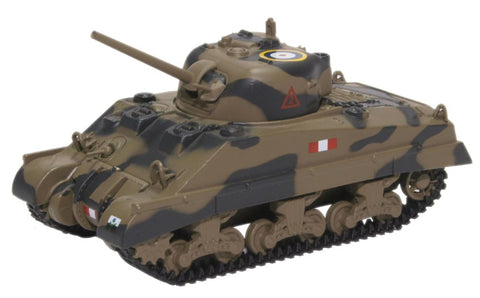 M4A2 Sherman III, Royal Scots Greys, British Army, Italy, 1943 (1:76 OO Scale) by Oxford Diecast Military Vehicles