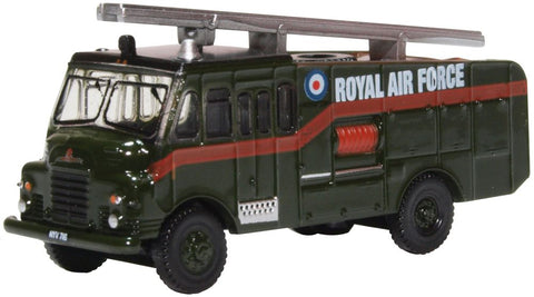 "Bedford RLHZ ""Green Goddess"" Self-Propelled Pump, Royal Air Force (1:148 N Scale) by Oxford Diecast Military Vehicles"