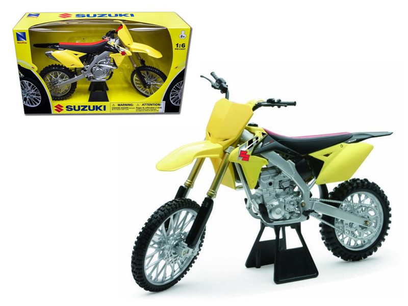 2014 Suzuki RM-Z450 Bike Motorcycle 1/6 Model by New Ray, New Ray Item Number NR49473