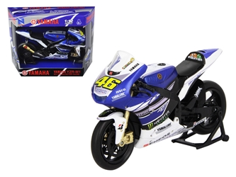 "2013 Yamaha YZR-M1 Valentino Rossi ""Monster"" Moto GP #46 Motorcycle Model (1:12), New Ray Item Number NR57583"