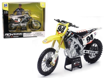 Suzuki RM-Z 450 #94 Ken Roczen Motorcycle Model (1:12), New Ray Item Number NR57747