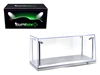 Collectible Display Show Case with LED Lights for 1:18 1/24 Models with Silver Base by Illumibox, Illumibox, Item Number 14002
