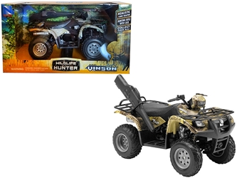 Suzuki Vinson 4x4 500 Quad Runner Green ATV Motorcycle (1:12), New Ray Item Number 42903A