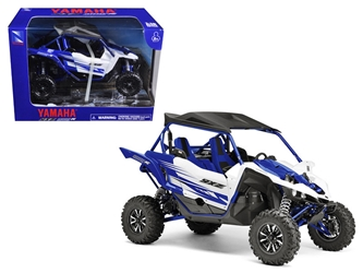 Yamaha YXZ 1000R Triple Cylinder Blue Buggy (1:18) Diecast Model, New Ray Item Number 57813A