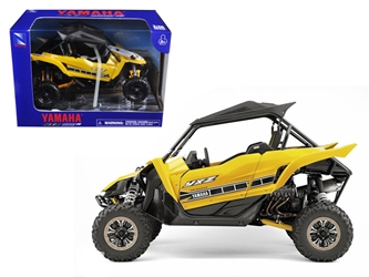 Yamaha YXZ 1000R Triple Cylinder Yellow Buggy (1:18) Diecast Model, New Ray Item Number 57813B