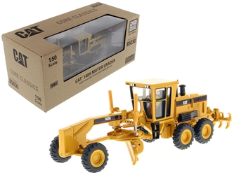 "Cat Caterpillar 140H Motor Grader with Operator ""Core Classics Series"" 1/50 Diecast Model by Diecast Masters by Diecast Masters Item Number 85030C"