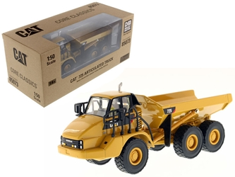 "CAT Caterpillar 725 Articulated Truck with Operator ""Core Classics Series"" 1/50 Diecast Model by Diecast Masters by Diecast Masters Item Number 85073C"