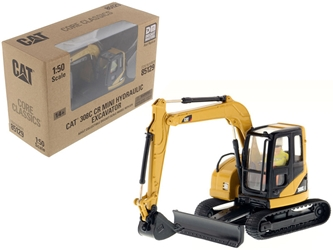 "CAT Caterpillar 308C CR Excavator with Operator ""Core Classics Series"" 1/50 Diecast Model by Diecast Masters by Diecast Masters Item Number 85129C"
