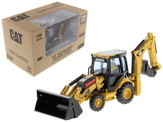 "CAT Caterpillar 432E Side Shift Backhoe Loader with Operator ""Core Classics Series"" 1/50 Diecast Model by Diecast Masters by Diecast Masters Item Number 85149C"