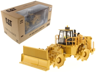 "CAT Caterpillar 836H Landfill Compactor with Operator ""Core Classic Series"" 1/50 Diecast Model by Diecast Masters by Diecast Masters Item Number 85205C"