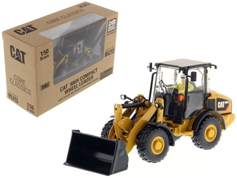 "CAT Caterpillar 906H Compact Wheel Loader with Operator ""Core Classics Series"" 1/50 Diecast Model by Diecast Masters by Diecast Masters Item Number 85213C"