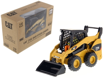 "CAT Caterpillar 272C Skid Steer Loader with Working Tools and Operator ""Core Classic Series"" 1/32 Diecast Model by Diecast Masters by Diecast Masters Item Number 85167C"