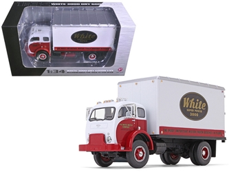 1953 White Super Power 3000 COE Delivery Van 1/34 by First Gear Item number 10-4084