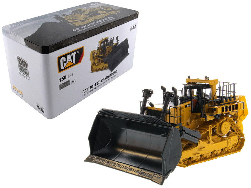 CAT Caterpillar D11T CD Carrydozer with Operator High Line Series 1/50 Diecast Model by Diecast Masters, Diecast Masters, Item Number 85567