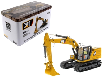 CAT Caterpillar 320 Hydraulic Excavator with Operator High Line Series 1:50 Diecast Model by Diecast Masters, Diecast Masters, Item Number 85569