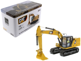 CAT Caterpillar 320 GC Hydraulic Excavator with Operator Next Generation Design High Line Series 1/50 Diecast Model by Diecast Masters, Diecast Masters Item Number 85570
