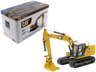 CAT Caterpillar 323 Hydraulic Excavator with Operator Next Generation Design High Line Series 1/50 Diecast Model by Diecast Masters, Diecast Masters Item Number 85571