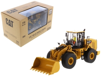 CAT Caterpillar 950 GC Wheel Loader with Operator Core Classics Series 1/50 Diecast Model by Diecast Masters, Diecast Masters Item Number 85907C