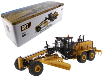 CAT Caterpillar 24 Motor Grader with Operator High Line Series 1/50 Diecast Model by Diecast Masters, Diecast Masters, Item Number 85552