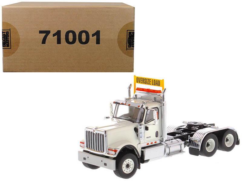 International HX520 Day Cab Tandem Tractor White 1/50 Diecast Model by Diecast Masters, Diecast Masters, Item Number 71001