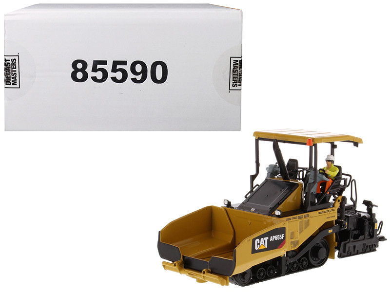 "CAT Caterpillar AP655F Tracked Asphalt Paver with Operator ""High Line Series"" 1/50 Diecast Model by Diecast Masters, Diecast Masters, Item Number 85590"