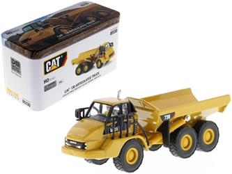 "CAT Caterpillar 730 Articulated Dump Truck with Operator ""High Line"" Series 1/87 by Diecast Masters Item number 85130"