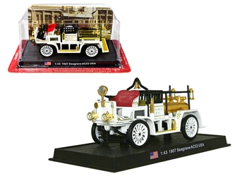 "1907 Seagrave AC53 Fire Engine Truck ""Los Angeles Fire Department"" (L.A.F.D.) 1/43 by Amercom <p> Item Number: ACSF14"