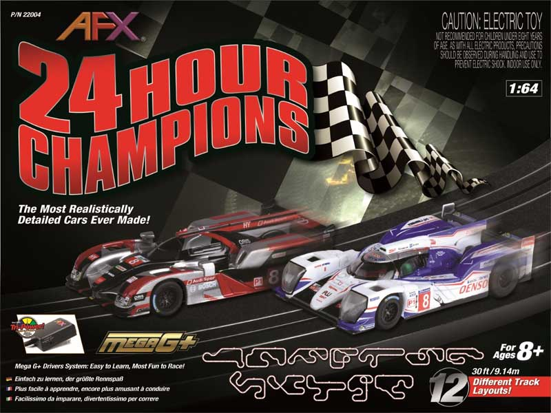 24 Hour Champions Race Set by AFX Slot Car Racing <p> Item Number: AFX22004