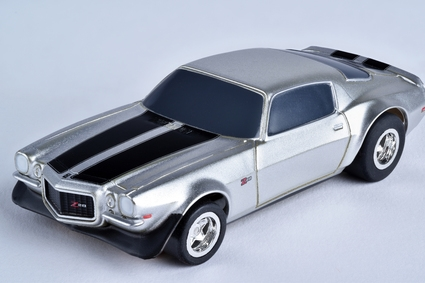 Camaro Z28 1970 Silver Mg+, AFX Slot Car Racing Item Number AFX21049