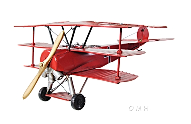 1917 Red Baron Fokker Triplane, Old Modern Handicrafts, Item Number AJ005