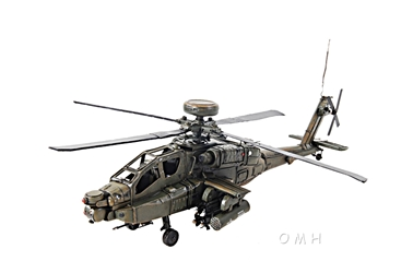 Ah-64 Apache 1:39, Old Modern Handicrafts, Item Number AJ008