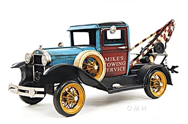 1931 Ford Model A Tow Truck 1:12, Old Modern Handicrafts, Item Number AJ028
