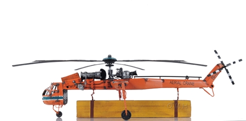 Aerial Crane Lifting Helicopter, Old Modern Handicrafts, Item Number AJ074