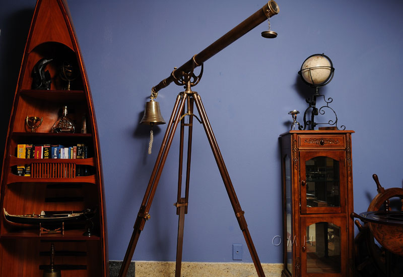 Telescope with Stand-40 inch, Old Modern Handicrafts, Item Number ND018
