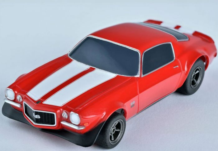 Camaro SS350 Red, AFX Slot Car Racing, Item Number AFX22002