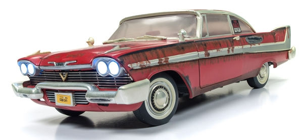 Christine '58 Plymouth 1:18