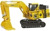 Miller Argent - Komatsu PC3000-6 Mining Excavator (1:50) Limited Edition of 300 by NZG item number: NZG613-03