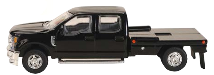Ford F-250 Flatbed Pickup in Black (1:64) by SPEC-CAST item number: 52611