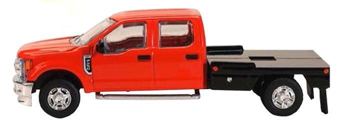 Ford F-250 Flatbed Pickup in Red (1:64) by SPEC-CAST item number: 52612