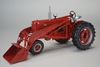 Farmall 400 Tractor with Loader and Tire Chains (1:16) by SPEC-CAST item number: ZJD-1819