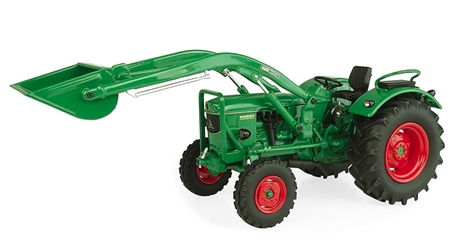 Deutz D6006 2WD Tractor with Loader (1:32) by Universal Hobbies item number: UHB5254