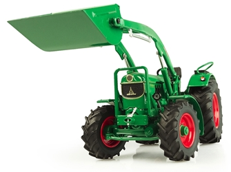Deutz D6005 4WD Tractor with Bucket (1:32) by Universal Hobbies item number: UHB5307
